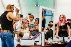 Beleza real Carpathia da competição internacional da indústria da beleza Fotos de Stock