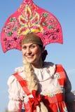 Beleza russian de sorriso imagem de stock royalty free