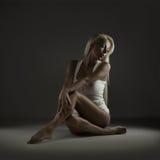 Beleza sensual Fotografia de Stock Royalty Free