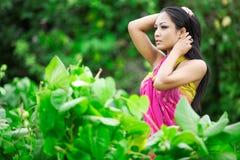 Beleza tailandesa Imagens de Stock