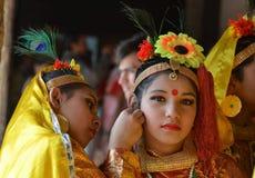 Belezas culturais da Índia Fotos de Stock