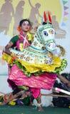 Belezas culturais da Índia Foto de Stock