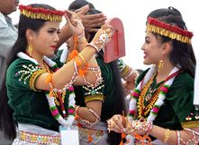 Belezas culturais da Índia Foto de Stock Royalty Free