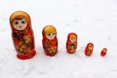 Belezas do russo Imagem de Stock