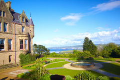 Belfast Castle. In Cavehill Country Park, Northern Ireland royalty free stock images