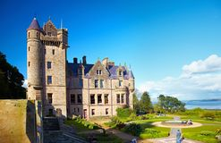 Belfast Castle. In Cavehill Country Park, Northern Ireland stock image