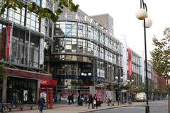 Belfast City Centre Castlecourt. The modern face of Belfast City Centre showing Castlecourt Shopping Centre royalty free stock photos