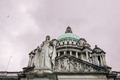 Belfast city hall Stock Photography