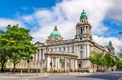Belfast City Hall - Northern Ireland Stock Image