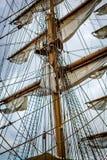 Belfast dokuje wysokiego statku festiwal Zdjęcie Royalty Free