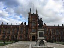 belfast görar till drottning universitetar Royaltyfria Foton