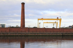 Belfast industry Stock Images