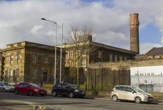 Belfast Irlanda del Norte la cárcel histórica del camino de Crumlin ahora usada como un museo moderno y los visitantes se centran Fotografía de archivo