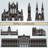 Belfast Landmarks Stock Image