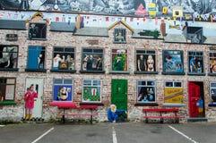 Belfast malowidła ścienne Zdjęcia Royalty Free