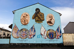 Belfast mural Stock Photography