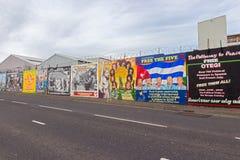 Belfast mural Stock Images