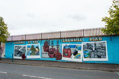Belfast murals Royalty Free Stock Images