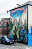 Belfast murals Royalty Free Stock Image
