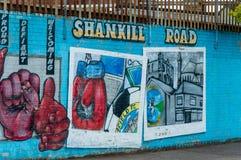 Belfast murals Stock Images