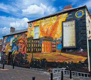 Belfast murals Stock Photo