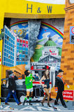 Belfast murals Royalty Free Stock Photos