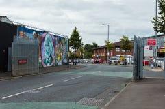 Belfast murals Stock Image