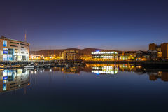 Belfast at night Stock Photos
