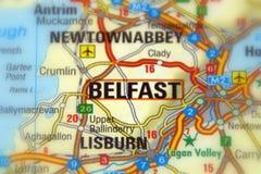 Belfast nordliga - Irland - Europa royaltyfri fotografi