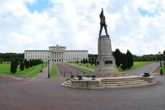 belfast parlamentstormont Arkivbild