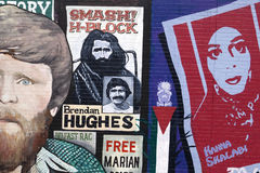 Belfast Peace Wall Murals Royalty Free Stock Photos