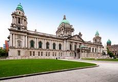 Belfast stadshus Arkivbilder