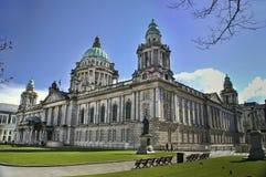 belfast stadshus nordliga ireland Royaltyfri Bild