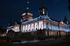 Belfast stadshus som är nordligt - Irland Royaltyfri Bild