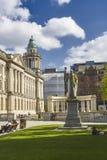 Belfast-Stadt Hall Classic Architecture lizenzfreies stockbild