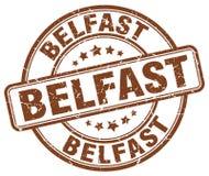 Belfast stamp. Belfast round grunge stamp isolated on white background. Belfast