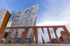 Belfast titânico Fotos de Stock