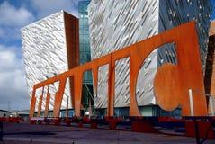 Belfast titanica Fotografia Stock Libera da Diritti
