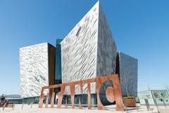 Belfast-titanisches Erinnerungsmuseum Lizenzfreies Stockfoto