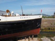 SS Nomadic Titanic tender boat in Belfast stock photos