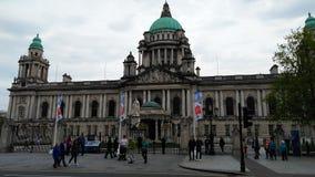Belfast urząd miasta zdjęcie royalty free