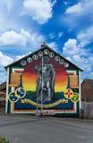 Belfast väggmålningar Arkivfoto