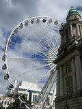 The Belfast Wheel Stock Photos