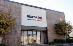 Belfor Egenskap Återställande Företag, Memphis, TN royaltyfria foton