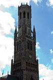 Belfort (Belfry) bell tower in Bruges, Belgium Stock Image