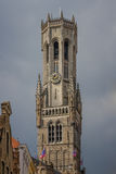 Belfort of Bruges Stock Photo