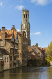 The Belfort in Brugge Stock Photo