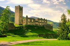 belfort castel Arkivbild