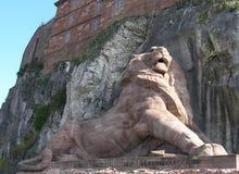 belfort lion Royaltyfri Foto