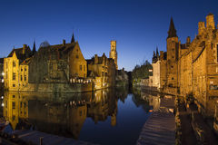 The Belfort at Night Royalty Free Stock Photos